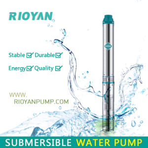 Stable 3 Inch 75qjd Cast Iron Multistage Submersible Pump (75QJD1.8-38/1.3kW) pictures & photos