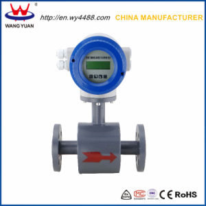 China Hot Sale Waste Water Electromagnetic Flow Meter pictures & photos