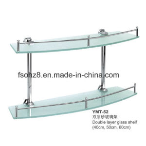 Multi-Functional Stainless Steel Glass Towel Shelf for Hotel (YMT-52) pictures & photos