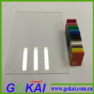 White Cut Size Wholesale Custom Acrylic Name Plate pictures & photos