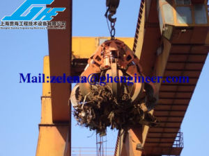 Steel Scrap Grab Electro Hydraulic Orange Peel Grab pictures & photos