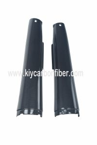 Carbon Fiber Motorcycle Parts Muffler Cover for YAMAHA Mt-01 2006-2010 pictures & photos