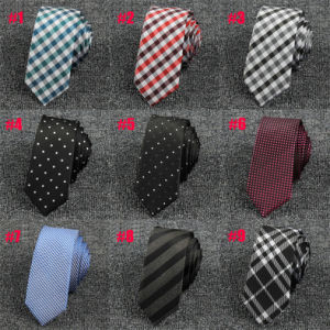Customized Polyester Tie Slim, Mens Skinny Ties (A021) pictures & photos