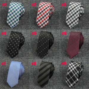 Customized Polyester Tie Slim, Mens Skinny Ties (A021)