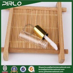 1ml 1g Mini Plastic Lipstick Tube for Lipstick Lip Balm Sampler Lipstick Tube with Brush and Gold Cap pictures & photos