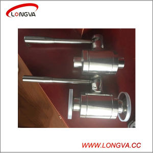 Sanitary Stainless Steel Forged Steel High Pressure Ball Valve pictures & photos