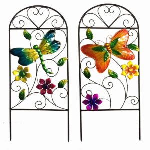 Metal Flower Fence for Spring Garden Decoration pictures & photos