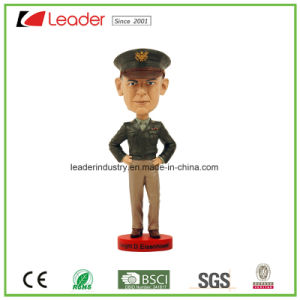 Hand Painted Polyresin Crafts Bobblehead Figurines for Promotional Gifts pictures & photos