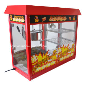 Commercial Electrical Popcorn Maker Popcorn Machine with display Stand