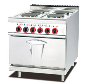 Commercial Electric Induction Cooker with Two Hot Plate and Cabinet pictures & photos