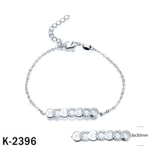 New Arrival Fashion Bracelet Silver Jewelry Wholesale pictures & photos