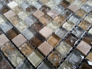 Building Materials Wall and Floor Glass Mosaic pictures & photos