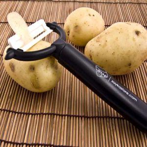 Anti-Skidding Manual Ceramic Sweet Potato Industrial Vegetable Peeler pictures & photos