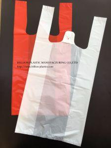 Poly Carrier Handbags T-Shirt Bag Plastic Shopping Bag pictures & photos