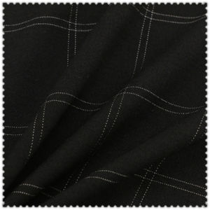 Cotton Nylon Rayon Spandex Checks Fabric pictures & photos