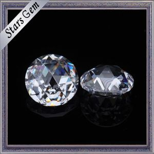Wholesale Cheap Price 3mm Round Rose Cut Cubic Zirconia Stones pictures & photos