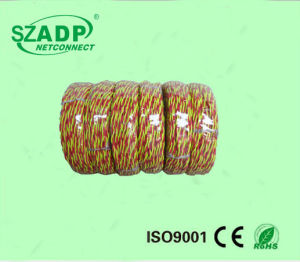 1 Pair Telephone Cable Jumper Wire 2 Core 0.5mm Tinned Copper 300m Roll pictures & photos