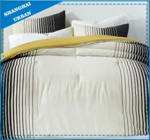 Black Line Design Cotton Printed Duvet Cover Bedding pictures & photos