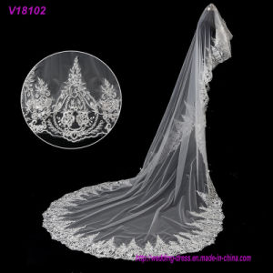 Hot Sell Bridal Veil Cathedral Veils Long Wedding Veil Wedding Accessories High Quality pictures & photos