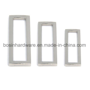 Metal Rectangular Ring Buckle Findings pictures & photos
