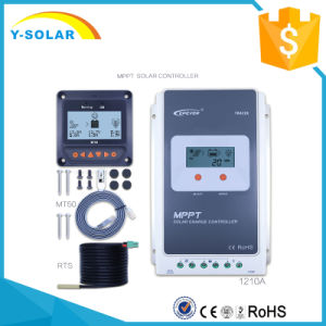 Epever MPPT LCD Display 10A 12V 24V Solar Power Controller with Ce Tracer1210A pictures & photos