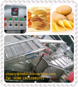2016 China Small Scale Cheap Fresh Potato Chips Making Machine pictures & photos