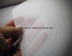 Fabric Design PVC Vinyl Perforated Mesh Flex Banner Outdoor Advertising Printing pictures & photos