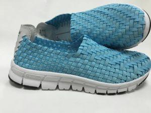 2017 Hot Sale Woven Shoe New Design Comfortable Shoe