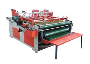 Semi-Auto Carton Gluer Machine with ISO9001 pictures & photos