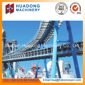 Concrete Mixing Plant Belt Conveyor pictures & photos