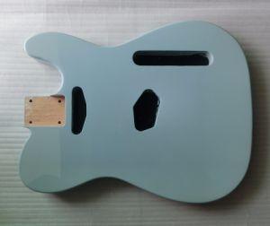 Nitro Satin Finished Alder Daphne Blue Strat Body Guitar pictures & photos