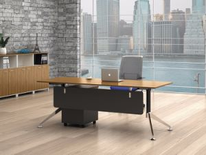 Black Customized Metal Steel Office Staff Table Frame with Ht89-1 pictures & photos