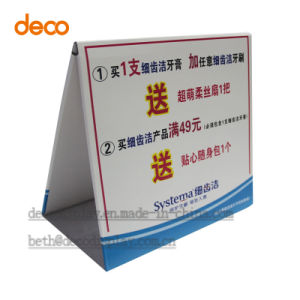 Advertising Paper Display Standees Pop Cardboard Display for Promotion pictures & photos