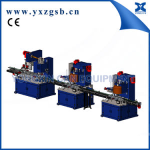 Automatic Square Rectangular Can Olive Oil Lubricant Can Production Line pictures & photos