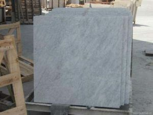 Polished 240X120X2cm Carrara White Marble Slabs pictures & photos