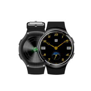 Newest 3G Android 5.1 Smartwatch Phone with Heart Rate Monitor pictures & photos