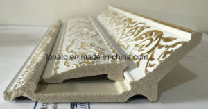 European fashion PS Mould Foam Cornice with Hot Stamping pictures & photos