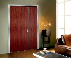 White Laminated Interior Flush Doors pictures & photos