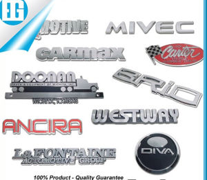 Custom Made Plastic ABS Logo Car Emblem Badges pictures & photos