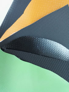 PVC Coated Tarpaulin Stocklot for Truck Cover, Flex Banner pictures & photos