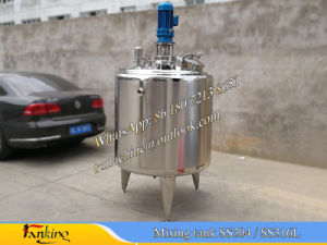 500L 1000L Milk Batch Pasteurizer (automatic temperature control) pictures & photos
