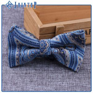 Factory Manufacturer Printed Flower Adjustable Fancy Dress Bow Tie pictures & photos