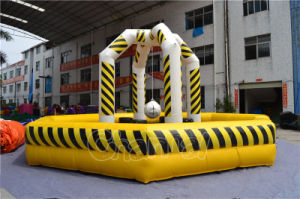 Customized Yellow Inflatable Wrecking Ball for Kids pictures & photos