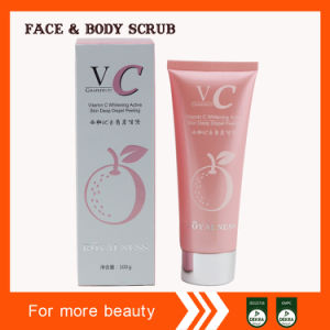 Vitamin C Whitening Active Skin Deep Dispel Peeling Face Scrub Gel pictures & photos