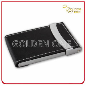 Factory Supply Genuine Leather Business Card Holder pictures & photos