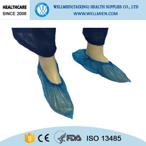 Disposable Cleaning Room PE/CPE Shoe Cover pictures & photos