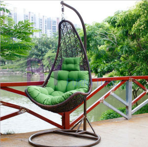 Modern Outdoor Hotel Furniture Aluminum Rattan Swing Chair pictures & photos