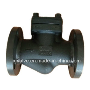 Forged Carbon Steel A105 Flanged Connection End Lift Check Valve pictures & photos