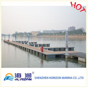 Yacht Dock PE Pontoon Manufactured in China pictures & photos