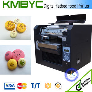 Newest DTG 6 Colors A3 Customized Cake Cheap Solvent Printing Machine pictures & photos